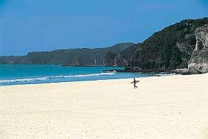 シーサイド ペンション 多々戸浜:白浜ビーチまで100m。海水浴・マリンスポーツに最適