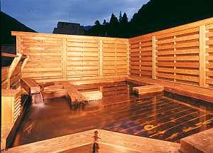 天空の湯 なかや旅館:40分間貸切可能な天空露天風呂「露天で電気を消したら満天の星空が♪」(クチコミ投稿・ぴんぴん様)