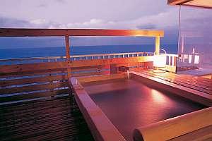 8畳和室、露天風呂付客室(一例)「特別階、放雲の間」