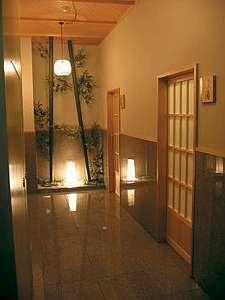 ホテルニュー下風呂:浴室入り口