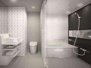 仙台ワシントンホテル:トイレと別々の独立型バスルーム<イメージ>