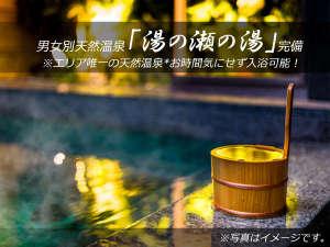 スーパーホテル山形・鶴岡 天然温泉 湯の瀬の湯の写真