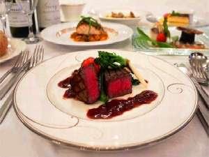 ホテルイルマーレ牛窓:シェフ自慢の洋食ディナー