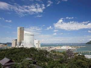 JRホテルクレメント高松(旧 全日空ホテルクレメント高松)の写真