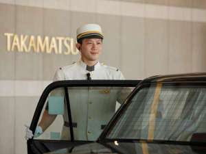 JRホテルクレメント高松(旧 全日空ホテルクレメント高松):四国のお接待で生まれる心の交流。ホテルスタッフは温かくお出迎え致します