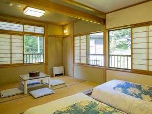 信州サーモン・岩魚・鯉・鱒料理 野沢のお宿 ふぶき:和洋室