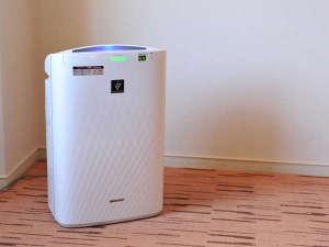 広島エアポートホテル:プラズマクラスター空気清浄加湿器を全室に完備 花粉症、乾燥肌、のどにやさしい環境をご用意