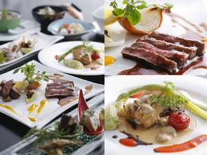 サンセットビューホテル けひの海:淡路島の地の素材を使用した創作和食