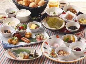 朝食はバイキング形式でご提供いたします。※画像はイメージです