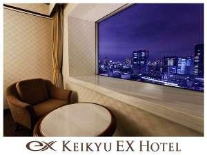 京急EXホテル品川(旧京急EXイン品川駅前):◆エグゼクティブルームからの夜景(イメージ)◆