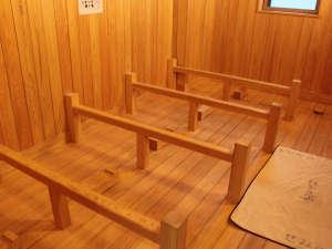 旅館小川屋:『せみの湯』までは徒歩1分♪源泉の蒸気であったまる、和風ミストサウナ「ふかし湯」