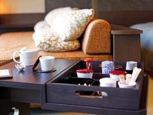 【客室】お茶にこだわる「茶甘露~サカンロ~」