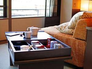 【客室】自分で好きな時に好きなお茶を飲む幸せ。