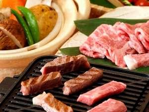 まろき湯の宿 湯元榊原舘:ダイニングで味わえる三重ブランド特選松阪牛鉄板焼き♪
