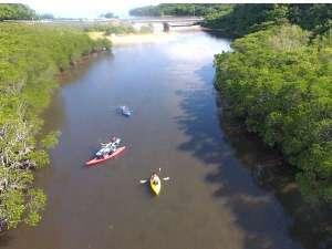 マリンリゾート マリンメイト:吹通川でのんびりカヌー