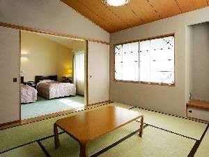 静波リゾートホテル・スウィングビーチ:和洋室 一例