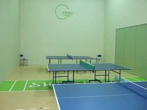 静波リゾートホテル・スウィングビーチ:卓球台 3台(ラケットボールコートにもなります)1面1時間 850円~