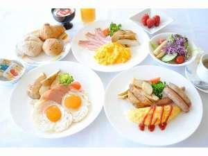 静波リゾートホテル・スウィングビーチ:朝食☆洋食プレート☆