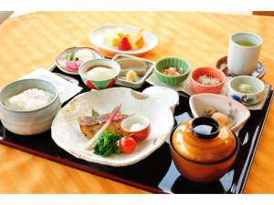 静波リゾートホテル・スウィングビーチ:朝食・和定食 一例 朝食付きプラン