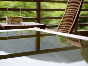 箱根小涌谷温泉 水の音:客室露天風呂(イメージ):日常では味わえない至福のひとときを・・・。