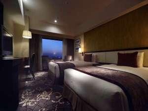 ホテルメトロポリタン:デラックスツインルームは16階~23階の高層階に位置します。