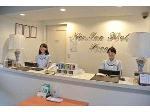 ナイスインホテル市川東京ベイ~舞浜まで電車6分~:フロント