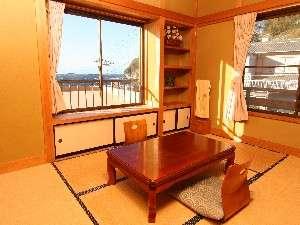 御宿 喜久丸:純和風造りの客室は、居心地抜群