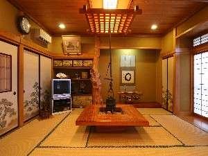 御宿 喜久丸:囲炉裏付の宴会場