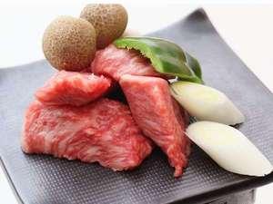 信州プレミアム牛肉の石焼き♪