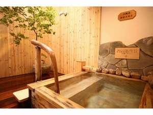 ドーミーインPREMIUM札幌:男性大浴場(檜風呂②)