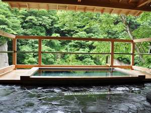 旅館新湯:女性用露天風呂