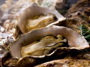 海辺の温泉宿 まるさん:熱々焼牡蠣