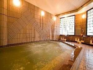 海辺の温泉宿 まるさん:リニューアルと同時に新設した大浴場はアルカリ単純天然温泉(汲み湯)女湯