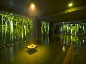 湯峡の響き 優彩:竹林の湯