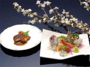 常磐ホテル:最上級のおもてなし【篝火(かがりび)の膳】全13品。お祝いや記念日にぜひご利用下さい。