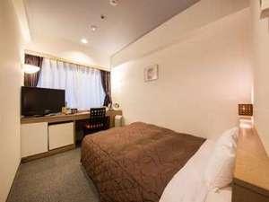 大阪守口プラザホテル大日駅前:全室に32インチTVと空気清浄機ナノイーをご用意しております。