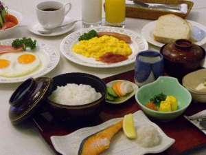 冷泉閣ホテル駅前:★ご朝食(和食or洋食をチョイス)★