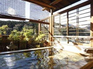 湯宿温泉 太陽館 檜香る貸切露天風呂:●湯宿温泉唯一の無料貸切露天風呂