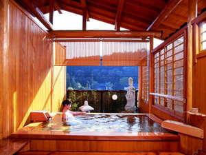 檜香る貸切露天風呂 湯宿温泉 太陽館