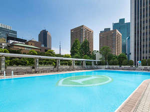 ANAインターコンチネンタルホテル東京:都会のオアシス「ガーデンプール」が夏季限定でオープン!2017年5月27日(土)~9月30日(土)