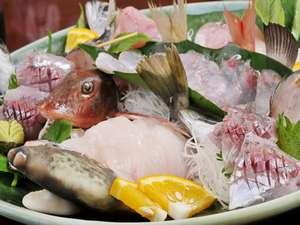 まるなか:【夕食一例】2009年3月のお魚。ほうぼう、かわはぎ、アジなど(2名様分)