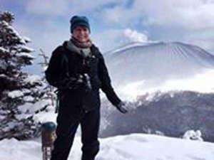 里山体験宿 青雲館:*冬の蛇骨岳の撮影!登山もお楽しみいただけます♪