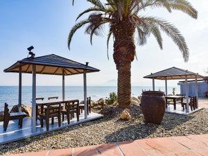 日出温泉 大分隠れヶ浜 スパビレッジ日出:*【中庭】潮風・波の音を聴きながら朝のお散歩などいかがでしょうか♪