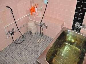 サーフサイドペンション わんすてっぷ:貸切風呂① グループ毎に入浴して頂きます。