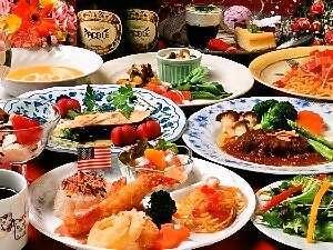 ペンション ぱどる:夕食の一例