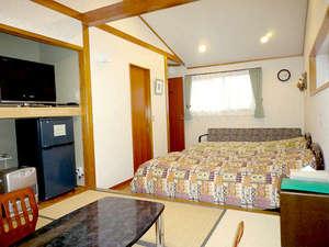 ペンション ぱどる:和洋室はファミリーに人気です。