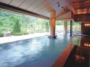 ホテル湯の陣:大きなお風呂で『ゆびそ温泉』を満喫してください♪