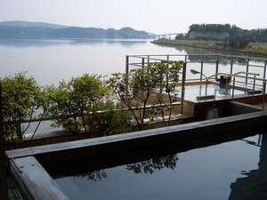 日本の宿 のと楽:眺めの良い寝湯