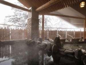 ラビスタ大雪山:■もむにの湯■大浴場は2017年春にリニューアル完了♪内風呂は木の香りに包まれます
