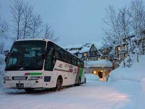 ラビスタ大雪山:冬期間無料送迎バス